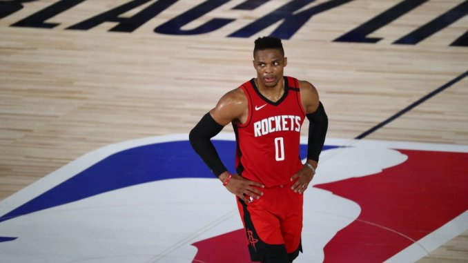 NBA Rumors: Best trade Pistons could offer Rockets for Russell Westbrook