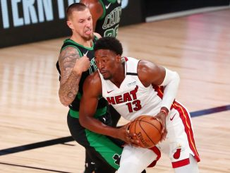 Bam Adebayo, Miami Heat, Boston Celtics, Draymond Green, Eastern Conference Finals