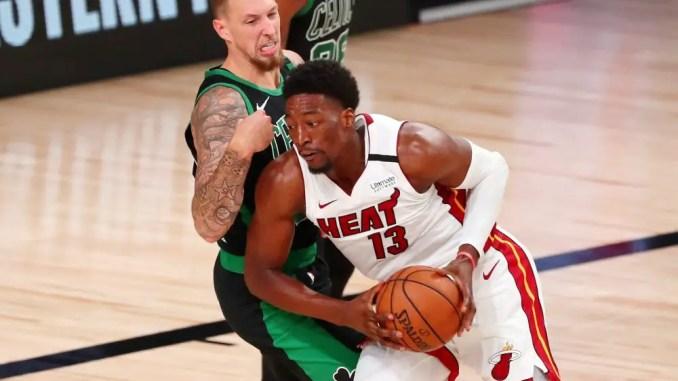 Bam Adebayo, Miami Heat, Boston Celtics, Draymond Green, Eastern Conference Finals