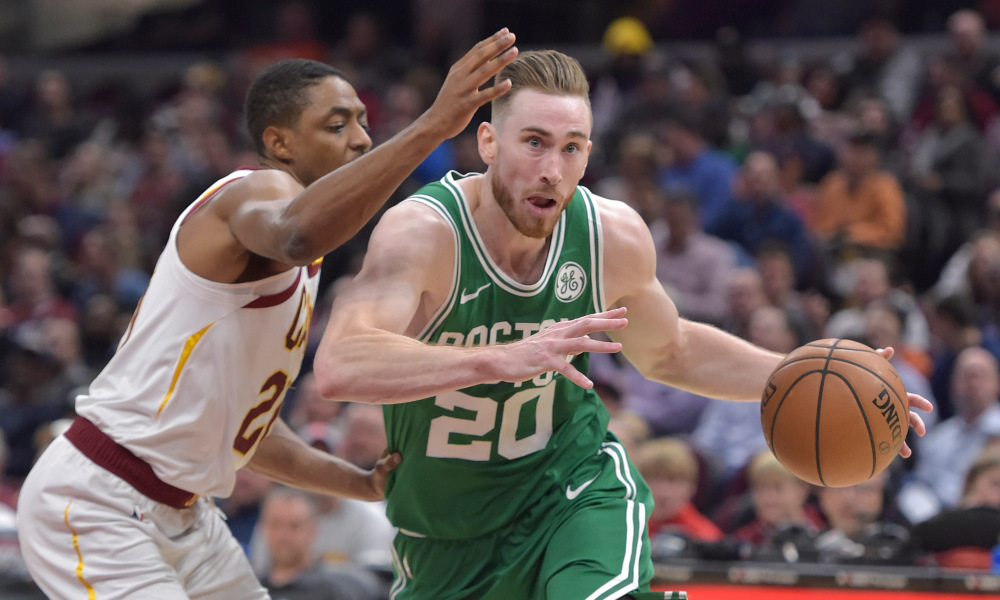 This Rockets Celtics Trade Would Pair Gordon Hayward With Harden
