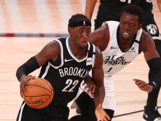 Caris LeVert, Kevin Durant, Kyrie Irving, NBA Trade Rumors, Brooklyn Nets, Jimmy Butler, Bam Adebayo, Kyrie Irving
