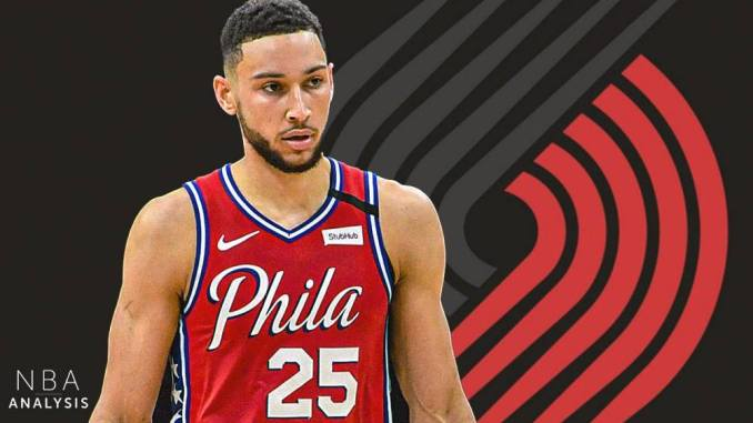 Ben Simmons, Trail Blazers, 76ers