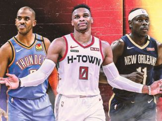 NBA Rumors, Russell Westbrook, Jrue Holiday, Chris Paul, New York Knicks, Brooklyn Nets, Phoenix Suns, Houston Rockets, New Orleans Pelicans, Oklahoma City Thunder