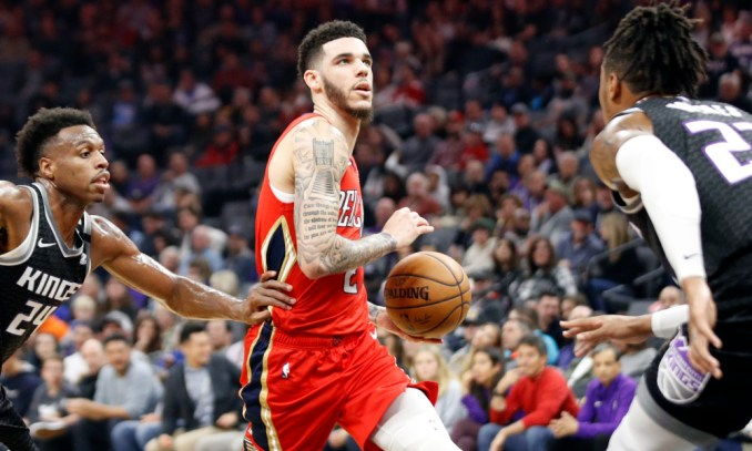 NBA Rumors: This Knicks-Pelicans trade sends Lonzo Ball to ...