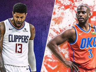 Paul George, Chris Paul, Clippers, Warriors, Thunder