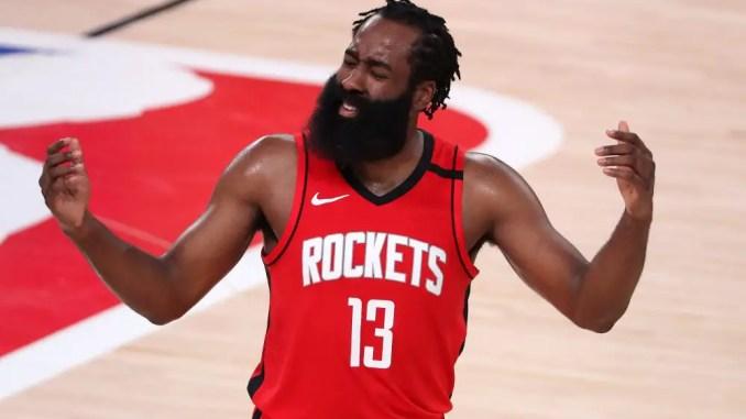 James Harden, Houston Rockets, Cleveland Cavaliers, Boston Celtics, Toronto Raptors, Brooklyn Nets, Kevin Durant, Kyrie Irving, NBA Rumors
