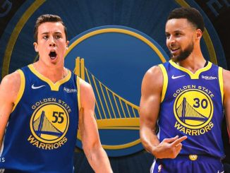Duncan Robinson, Stephen Curry, Warriors, Heat