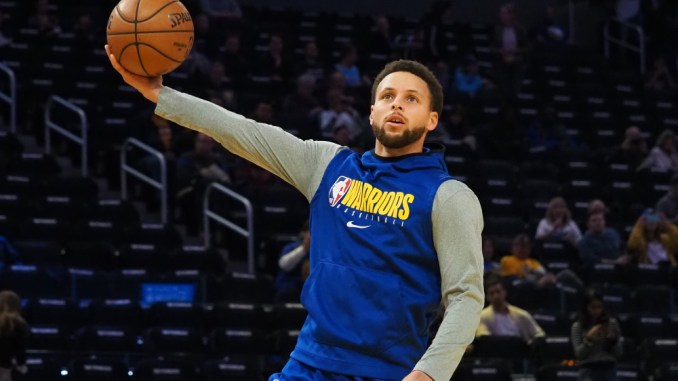 Stephen Curry, Warriors, Pelicans