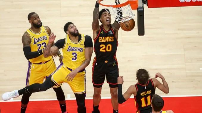 John Collins, Atlanta Hawks, NBA Rumors, Los Angeles Lakers, LeBron James, Anthony Davis