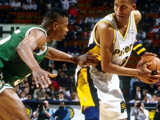 Reggie Miller, Indiana Pacers, Ray Allen, Boston Celtics, Steph Curry, Klay Thompson, Golden State Warriors, NBA