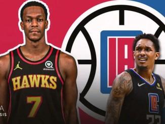 Los Angeles Clippers, Rajon Rondo, Lou Williams, Atlanta Hawks, NBA Trade Rumors