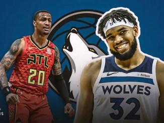 John Collins, Karl-Anthony Towns, Atlanta Hawks, Minnesota Timberwolves, NBA Trade Rumors