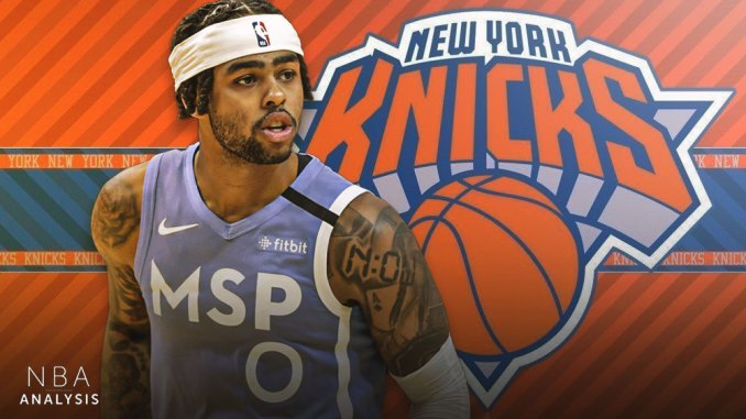 D'Angelo Russell, New York Knicks, NBA Trade Rumors, Minnesota Timberwolves
