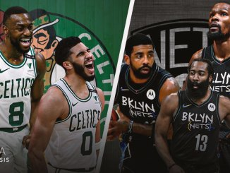 Boston Celtics, Brooklyn Nets, Kevin Durant, James Harden, Kyrie Irving, Kemba Walker, Jayson Tatum