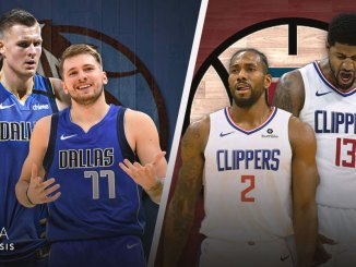 NBA Playoffs, Dallas Mavericks, LA Clippers, Kawhi Leonard, Paul George, Luka Doncic, Kristaps Porzingis