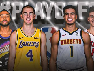 Los Angeles Lakers, Alex Caruso, Denver Nuggets, Michael Porter Jr., Miami Heat, Tyler Herro, Mikal Bridges, Phoenix Suns, NBA Playoffs