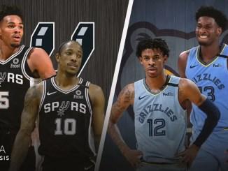 San Antonio Spurs, Memphis Grizzlies, Ja Morant, Jaren Jackson Jr., DeMar DeRozan, Dejounte Murray