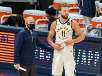 Nate Bjorkgren, Domantas SAbonis, Indiana Pacers, NBA Rumors