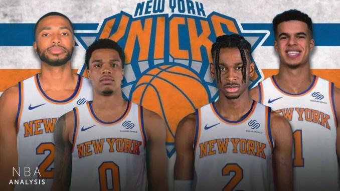 New York Knicks, Miles Bridges, Mikal Bridges, Kevin Knox II, Shai Gilgeous-Alexander, Michael Porter Jr., NBA Draft