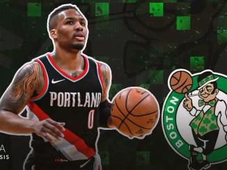 Damian Lillard, Celtics, Trail Blazers