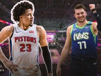 Cade Cunningham, Luka Doncic, 2021 NBA Draft