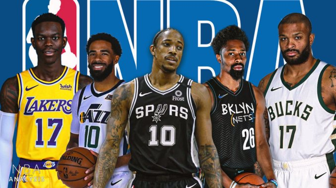 NBA Free Agency, NBA Rumors, Dennis Schroder, DeMar DeRozan, Mike Conley, PJ Tucker, Spencer Dinwiddie