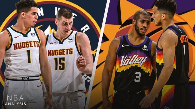 Phoenix Suns, Denver Nuggets, Devin Booker, Chris Paul, Nikola Jokic, Michael Porter Jr., NBA Predictions