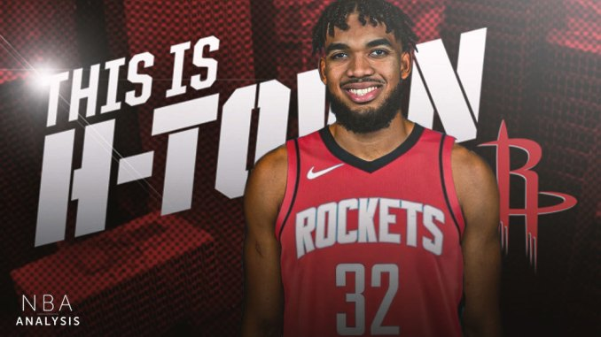 Karl-Anthony Towns, Houston Rockets, NBA Trade Rumors