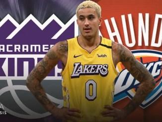 Kyle Kuzma, Lakers, Thunder, Kings