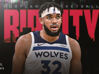 Karl-Anthony Towns. Trail Blazers, Timberwolves