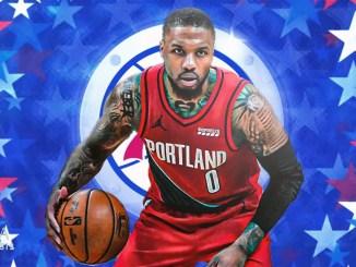 Damian Lillard, Philadelphia 76ers, Portland Trail Blazers, NBA Trade Rumors