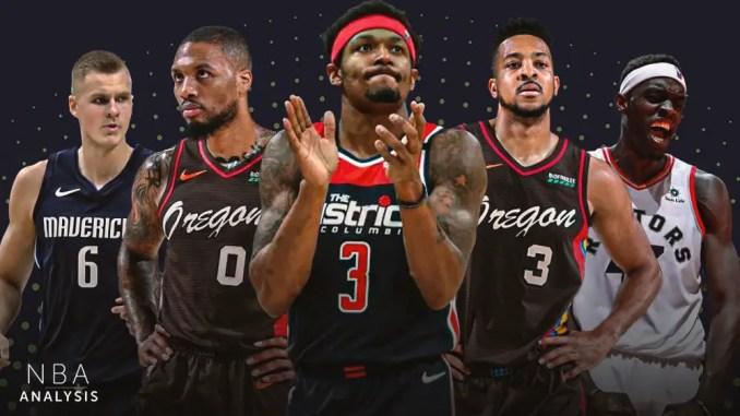 NBA Trade Rumors, Damian Lillard, CJ McCollum, Portland Trail Blazers, Bradley Beal, Washington Wizards, Pascal Siakam, Toronto Raptors, Kristaps Porzingis, Dallas Mavericks