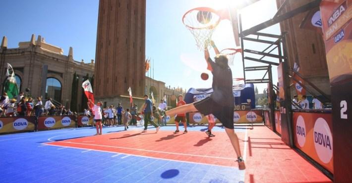 La NBA Fanzone llega a Barcelona y Salou