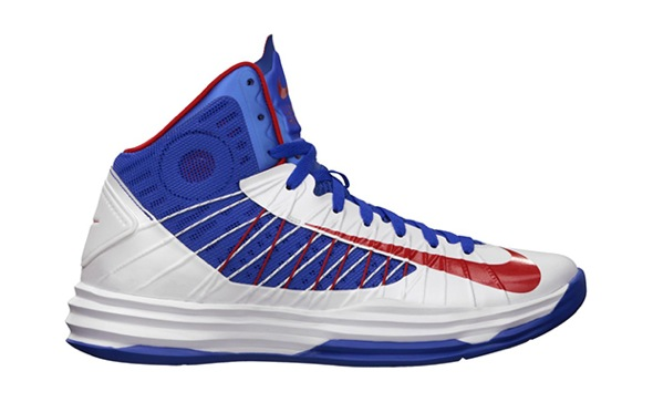 Nike Hyperdunk+ Puerto Rico White/University Red-Game Royal