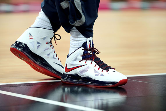LeBron X USA Spain Olympics