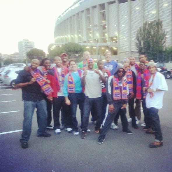 Los Mavericks en el Camp Nou