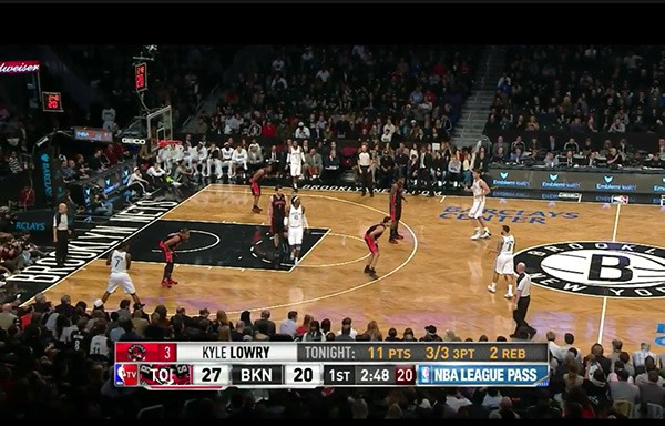 Barclays Center, Brooklyn Nets - Toronto Raptors