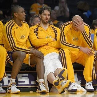 Lakers banquillo