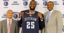 Problemas para Charlotte: Al Jefferson sufre un fuerte esguince de tobillo