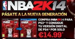 2K anuncia una oferta exclusiva de NBA 2K14 para usuarios de Playstation en España