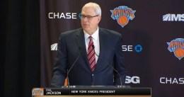 Phil Jackson se muestra optimista con los fichajes de los Knicks