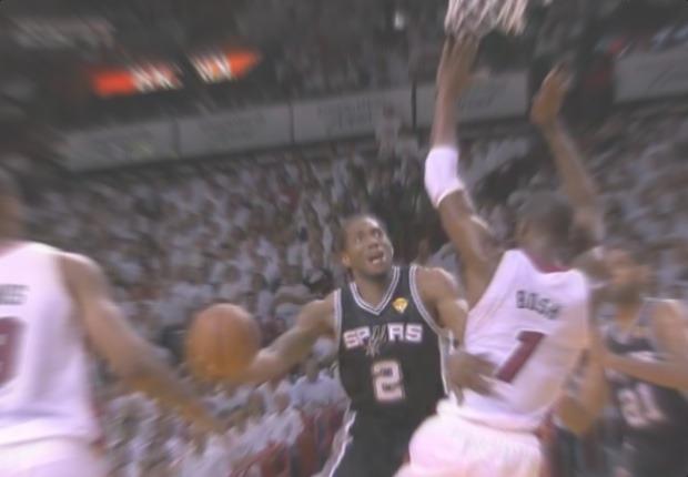 Spurs Heat Leonard