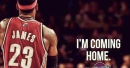 LeBron James anuncia su regreso a Cleveland Cavaliers