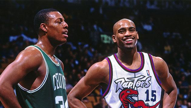 Vince Carter y Paul Pierce