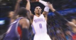Russell Westbrook consigue su noveno triple-doble en la victoria ante los Hawks