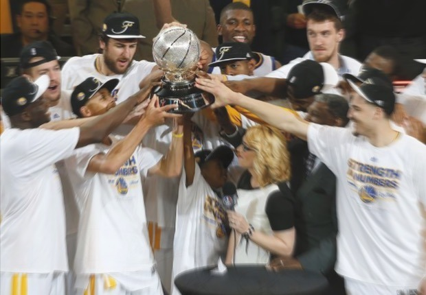 Warriors campeones Oeste