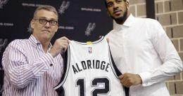 """LaMarcus Aldridge y los Spurs, """"condenados"""" a entenderse en la pista"""