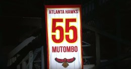 Atlanta retira la camiseta de Dikembe Mutombo