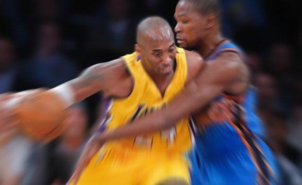 Kobe Bryant y Kevin Durant