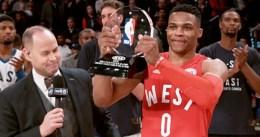 Westbrook, MVP por segundo All-Star consecutivo